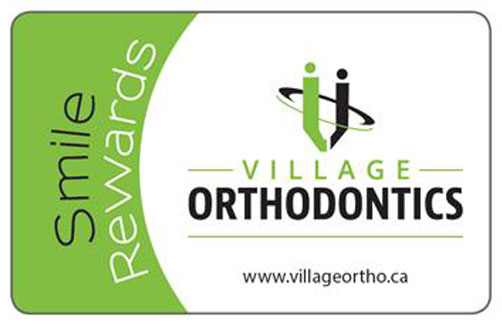 Smile Rewards, Village Orthodontics Winnipeg